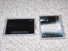 Supernatural Season 1 Inkworks NM Case Loader Crash CL1