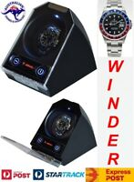 "Single Automatic Watch Winder  model: Atom-1BLX-LED ""Star Wars"""