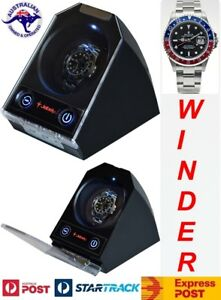 "Single Automatic Watch Winder  model: Atom-1BLX-LED ""Star Wars"""