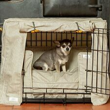 Lords & Labradors Regency Stripe Dog Crate Cover to fit Ellie-Bo Crates