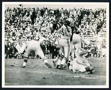 "1971 Johnny Unitas, ""Scrambles for His Life"" Action Photo v. Jets by Dan Farrell"