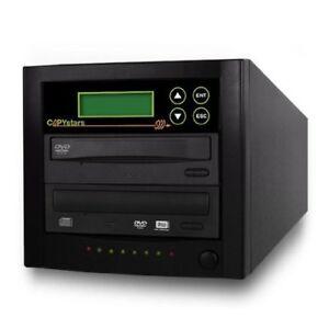CD DVD Duplicator Copystars 1-1 Drive 24x DL Media DVD Burner Value Copier Tower