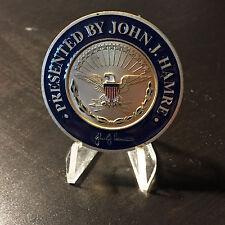 Deputy Secretary of Defense John J Hamre DOD Challenge Coin