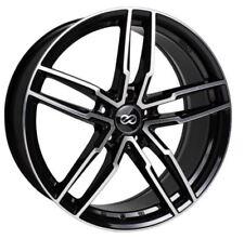 18x8 Enkei Rims SS05 5x114.3 +38 Black Rims Fits Mazda 3 Accord Rsx Tsx