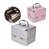 Make Up Case Extra Large Space Storage Nail Jewelry Cosmetic Vanity Beauty Box