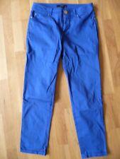 azurblaue Stoff-Hose von Hallhuber in Gr. 36