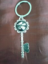 Key shaped key ring ( bird )