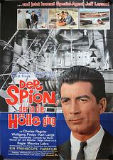 Spion der in die Hölle ging Filmposter A1 Corrida pour un espion Regnier Preiss