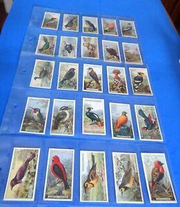 "MULTI-LIST OF OGDENS 1924 / FOREIGN BIRDS CIGARETTE CARDS ""SINGLE CARDS"""