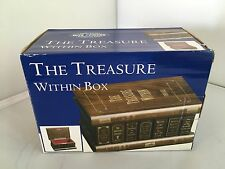 The Treasure Within Box by Bits and Pieces Clever Puzzles Intriguing Gifts