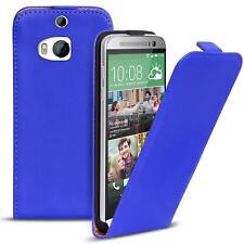 Ligera Flip Funda Carcasa HTC One M8 Protectora Móvil Plegable Bolsa