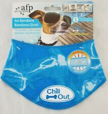 """All For Paws AFP Dog Puppy Chill Out Cooling Ice Bandana Small 11.8-14.2"""" Neck"""