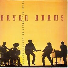 "BRYAN ADAMS There Will Never Be Another Tonight PICTURE SLEEVE 7"" 45 record RARE"