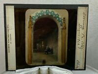 Vintage 1926 Magic Lantern Glass Slide Color Photo Very Cool Image PA 267