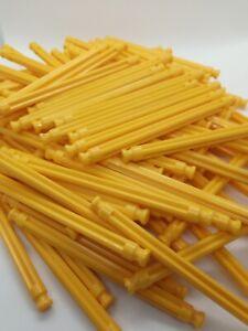 K'Nex 86mm Yellow Rod x 50 DW2013 Job Lot Bulk Buy Wholesale