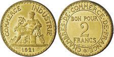2  FRANCS  CHAMBRE  DE  COMMERCE  DOMARD  1921  ,  SUPERBE  /  FDC