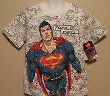 BOYS 5 SUPERMAN t-shirt NWT DC Comics Truth...Justice..
