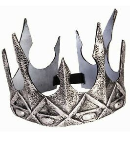 Silver Crown King Evil Queen Ravenna Costume Accessory Game of Thrones