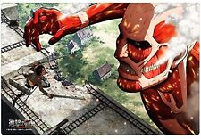 Attack on Titan Colossus Card Game Rubber Play Mat Vol.88 Anime Art Collection