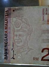 ERROR Malaysia RM 2 EF RARE