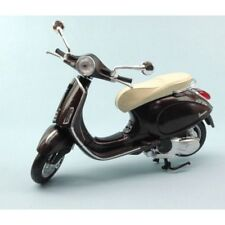 NEW RAY 1:12 MOTO DIE CAST VESPA PRIMAVERA MARRONE  METALLIZZATO ART 57553