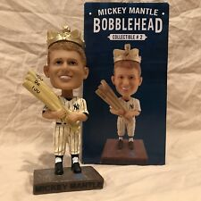 Mickey Mantle SGA 2016 New York Yankees MLB Triple Crown Bobblehead Statue 1956