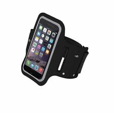 """Brassard de sport NOIR universel pour iPhone 7/8/X - Wiko Rainbow 5,1"""" max"""
