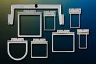 Fast Frames X-Change 7 in 1 Embroidery Hoops Brother PR600 PR620 PR650 PR1000 CR