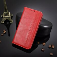 For Consumer Cellular Zmax-10, Luxury Magnet Flip Leather Wallet Card Case Cover