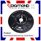 DIAMOND RACE SUZUKI QUICK RELEASE FUEL TANK CAP GSXR 600 750 1000 SV 650 TL