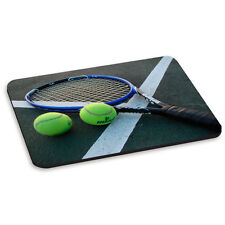 Tennis Racket Racquet Balls Court PC Computer Mouse Mat Pad