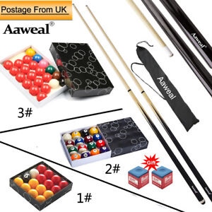 Compact Accessories Kit for Pool Tables Balls /Snooker Pool Cues Billiard Stick