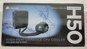 NIB Corsair Cooling Hydro Series H50 High Performance CPC Cooler CWCH50-1