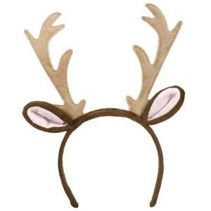 Reindeer Antler Headband Christmas Fancy Dress Accessory