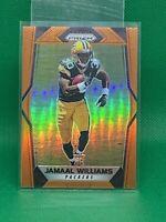 Jamaal Williams 2017 Panini Prizm Orange Prizm #D  /275 Green Bay Packers RC Hot