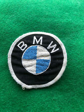 Vintage BMW Circular Cloth Sew On Badge Patch