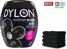 DYLON Washing Machine Fabric & Clothes Dye Pod - Intense Black Colour Paint 350G