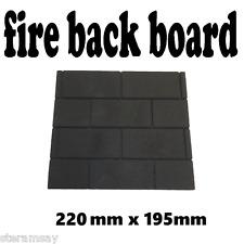 Gas Fire back board heat resistant replacement/Decorative/Brick effect Ceramic