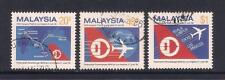(UXMY056) MALAYSIA 1986 Inaugural Flight of Malaysian Airlines fine used set