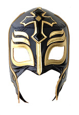 Rey Mysterio Black Adult Mask Lucha Libre Wrestling