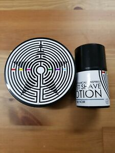Phoenix & Beau Star Noir Shaving Soap & Aftershave Lotion Used