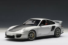 AutoArt Porsche 911 (997) GT2 RS Silver 1/18