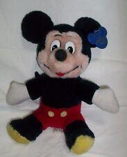 Vintage MICKEY MOUSE PLUSH Walt A Disney Original PARKS WDW Disneyland KOREA