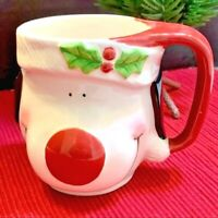 Airyusha Christmas Puppy Coffee Mug Cup