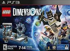 New LEGO Dimensions Starter Pack PS3 71170 269 pieces! Batman Gandalf Wyldstyle