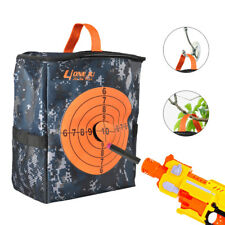 2pc Target Pouch Bullet Storage Bag Tactical Backpack Case For Kids Gun Bag