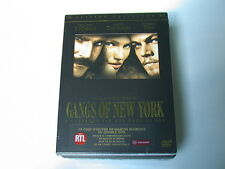 GANGS OF NEW YORK  EDITION COLLECTOR 2 DVD NEUF