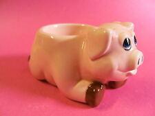 Eierbecher Schwein Schweine Schweinchen Keramik Teelichthalter neu