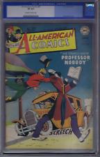 All American Comics #87 DC Pub 1947 CGC 8.0 (VERY FINE) SCARCE HIGH GRADE !