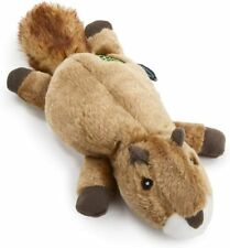New listing goDog Flatz, Squeaky, Squirrel Dog Toy with Chew Guard, 15�-Free Shipping